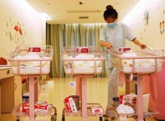 In Cina le nascite continuano a diminuire