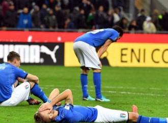 Calcio amaro, l'Italia s'è mesta