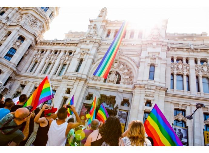 Gay pride a Madrid