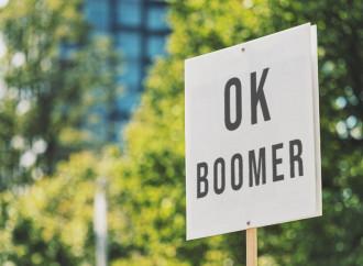 Giovani che odiano i boomer e amano l'Ordine Mondiale