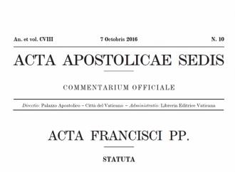 Lettera del Papa ai vescovi argentini pubblicata sugli Acta