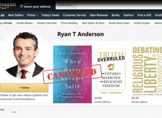 Amazon rimuove il libro sul transessualismo di Anderson