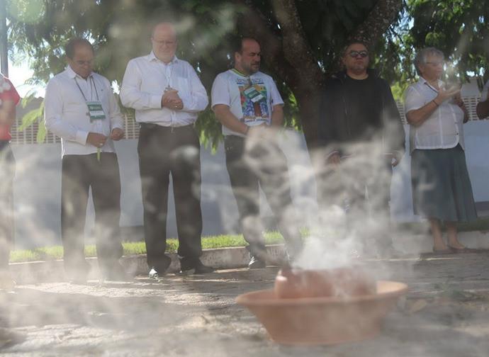 "La cerimonia di ""mistica indigena"""