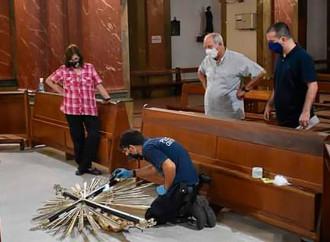 Profanata da ignoti una chiesa in Argentina