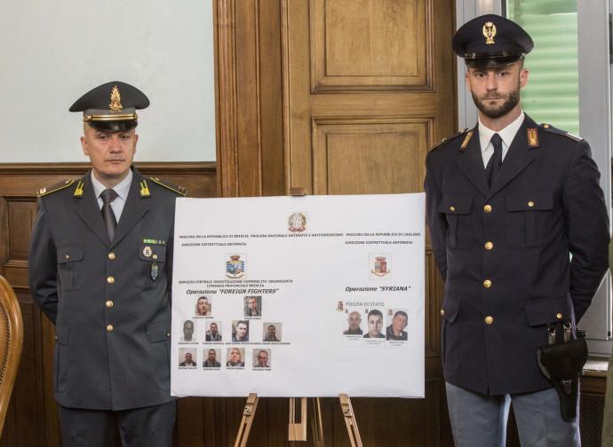 L'operazione anti-terrorismo a Sassari