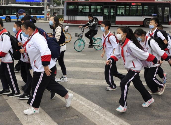 Cina, scolari