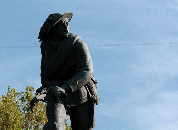 Monumento al bersagliere, Porta Pia, Roma