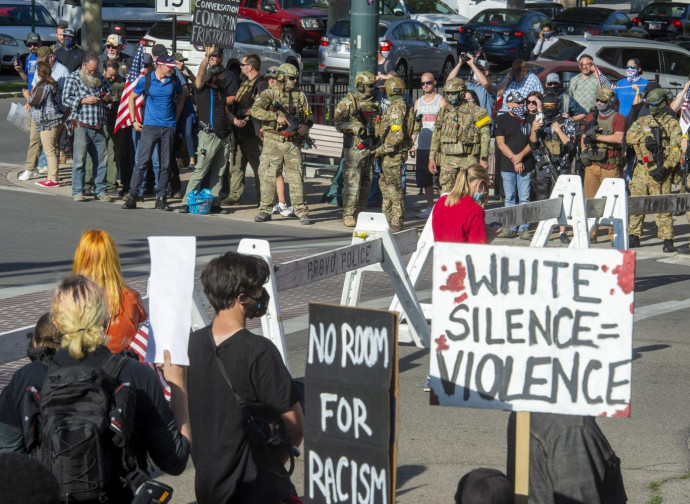 """""""Il silenzio dei bianchi è violenza"""""""