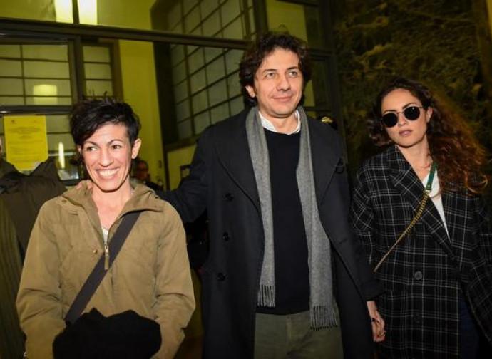 Marco Cappato all'uscita dal tribunale dopo la sentenza