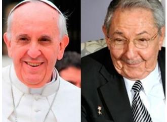 La seconda volta di un Castro in Vaticano