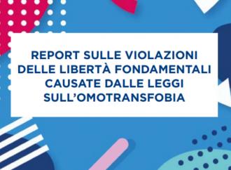 """Un report sui danni delle leggi sull' """"omofobia"""""""