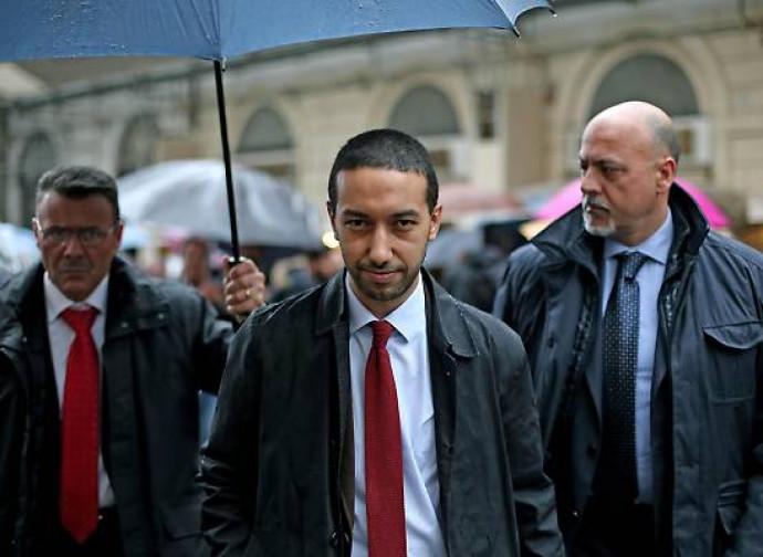 Khalid Chaouki (al centro)