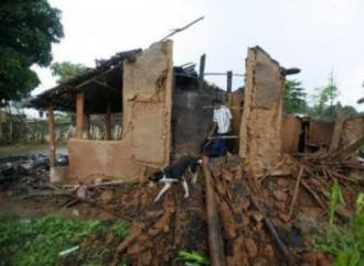 I fondamentalisti distruggono una chiesa in costruzione nell'Orissa