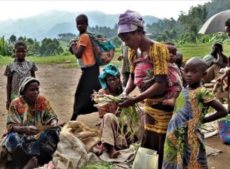 Decine di migliaia di persone in fuga nel Nord Kivu