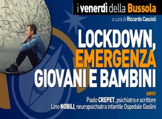 Lockdown, emergenza giovani e bambini