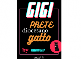 Gigi, il prete-gatto che ricorda don Camillo