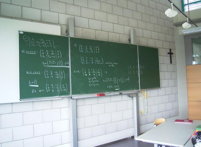 Crocifissi in aula prossimi alla rimozione