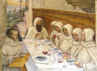 Vuoi imparare a mangiare bene e sano? Vai in monastero