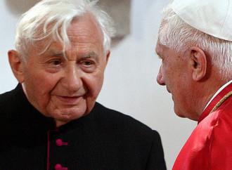 È morto Georg, il fratello di Benedetto XVI