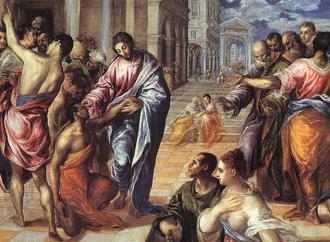 Il cieco guarito, dall'oscurità alla luce di Gesù