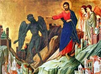Alle tentazioni si risponde con la fede. Imitando Gesù