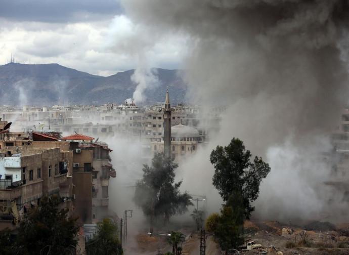 Bombardamento di Ghouta