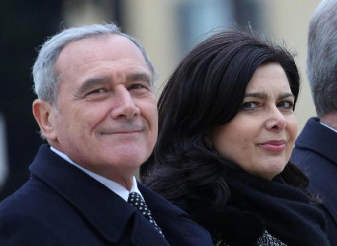 Grasso e Boldrini