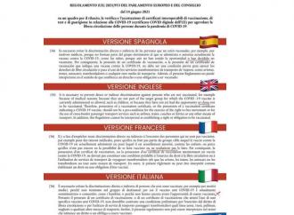 UE, adesso è il traduttore che obbliga a vaccinarci