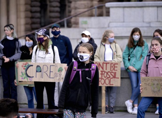 Greta e lo sciopero climatico ai tempi del Covid-19
