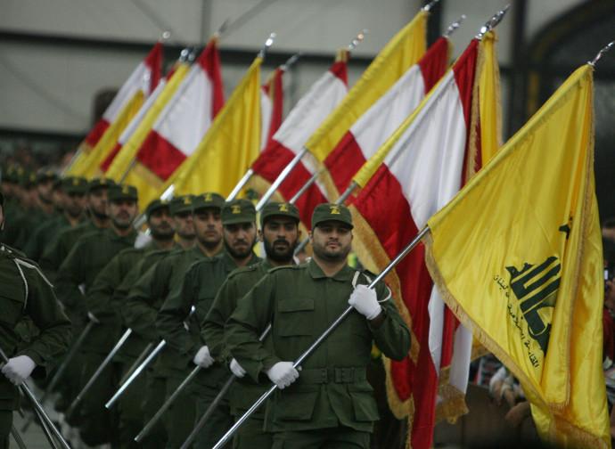 Parata di Hezbollah in Libano