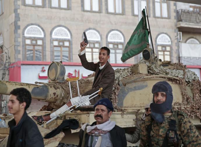 Sciiti festeggiano l'assassinio di Saleh