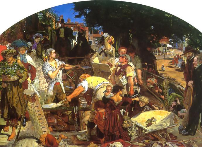 Il lavoro - Ford Madox Brown