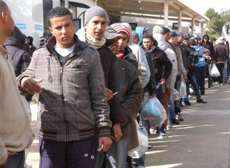 «Non fuggono da guerre, non devono arrivare in Libia»