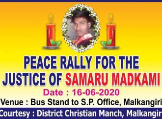 Dalit e tribali chiedono giustizia per Sombaru Madkami, lo studente cristiano ucciso nell'Orissa