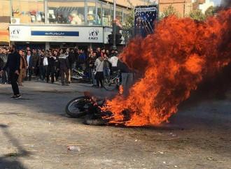Iran in fiamme, il popolo attende un aiuto
