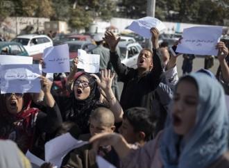 Non riconoscere i Talebani che decapitano le donne