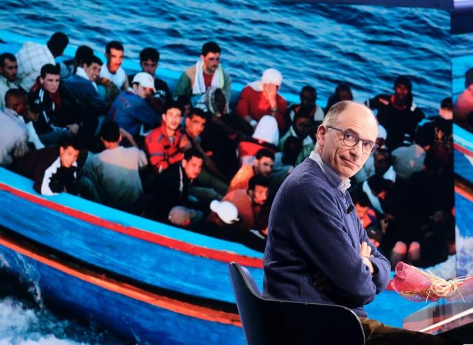 Enrico Letta e l'immigrazione