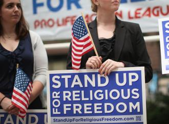 Usa per la libertà religiosa, contro lo Stato usurpatore