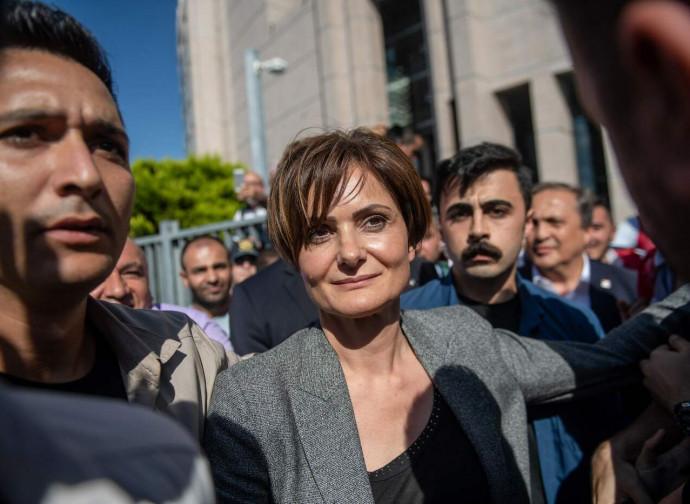 Chair Canan Kaftancioglu condannata a 9 anni per aver insultato Erdogan