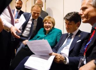 L'Italia farà da sola, il vertice segna la fine dell'Europa