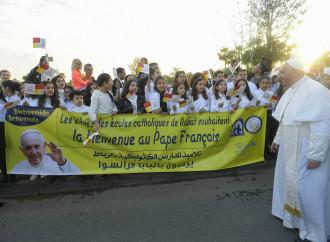 Opere e educazione, Francesco elogia i cattolici marocchini