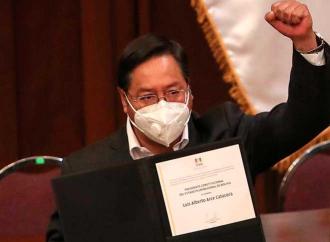 Luis Arce presidente, con i primi segni di autoritarismo