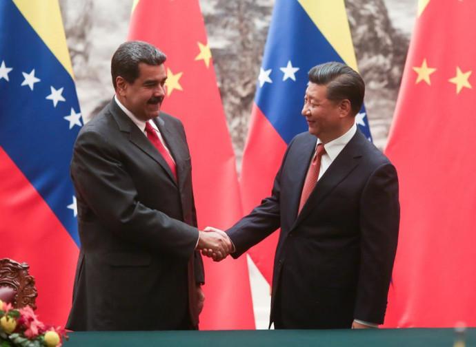 Maduro e Xi Jinping