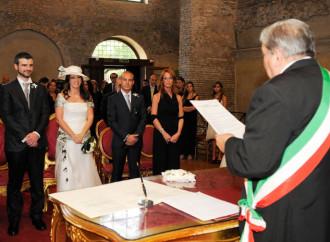 Matrimonio civile, inconciliabile con il sacramento