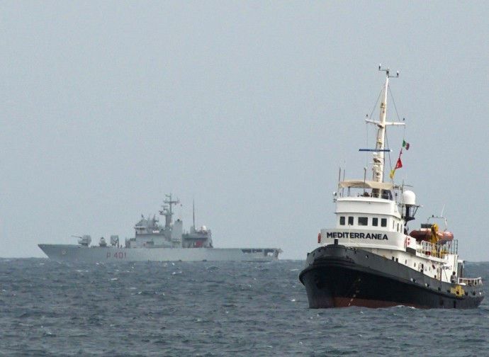 La nave Mediterranea