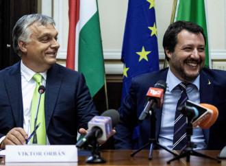 Ecco la nuova Europa voluta da Salvini e Orban