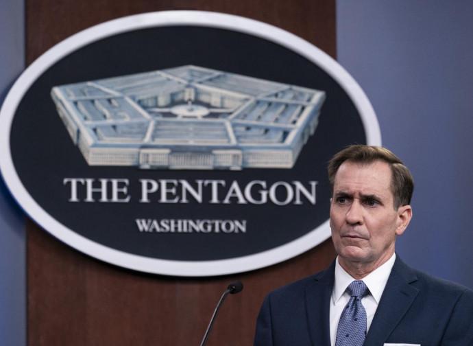 Pentagono, conferenza stampa dopo il raid