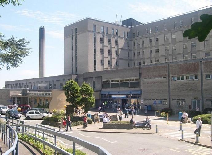 L'ospedale di Plymouth dove è ricoverato RS