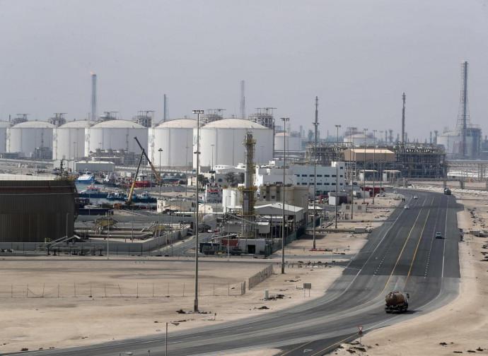 Impianti di gas liquido a Ras Laffan, Qatar