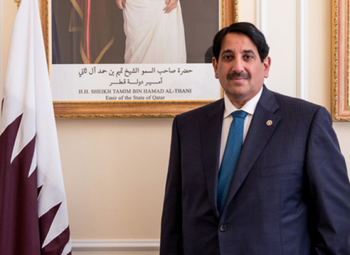 L'ambasciatore Abdulaziz Bin Ahmed Al Malki